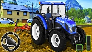 Real Farm Town   Farming Tractor Driving Simulator  Android Gameplay