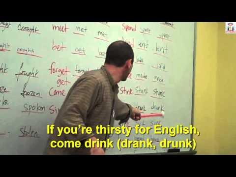 RAP Học động từ bất quy tắc tiếng Anh vui nhộn - Irregular Verbs