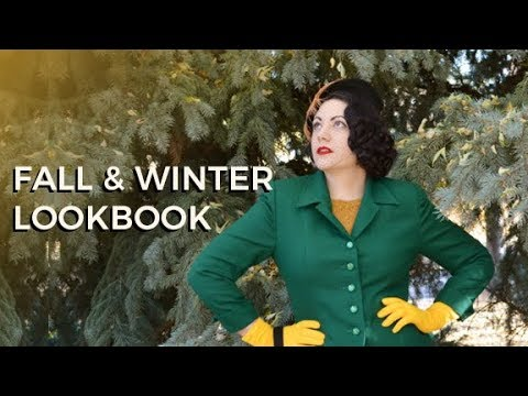 Fall & Winter Lookbook - Vintage Style 1