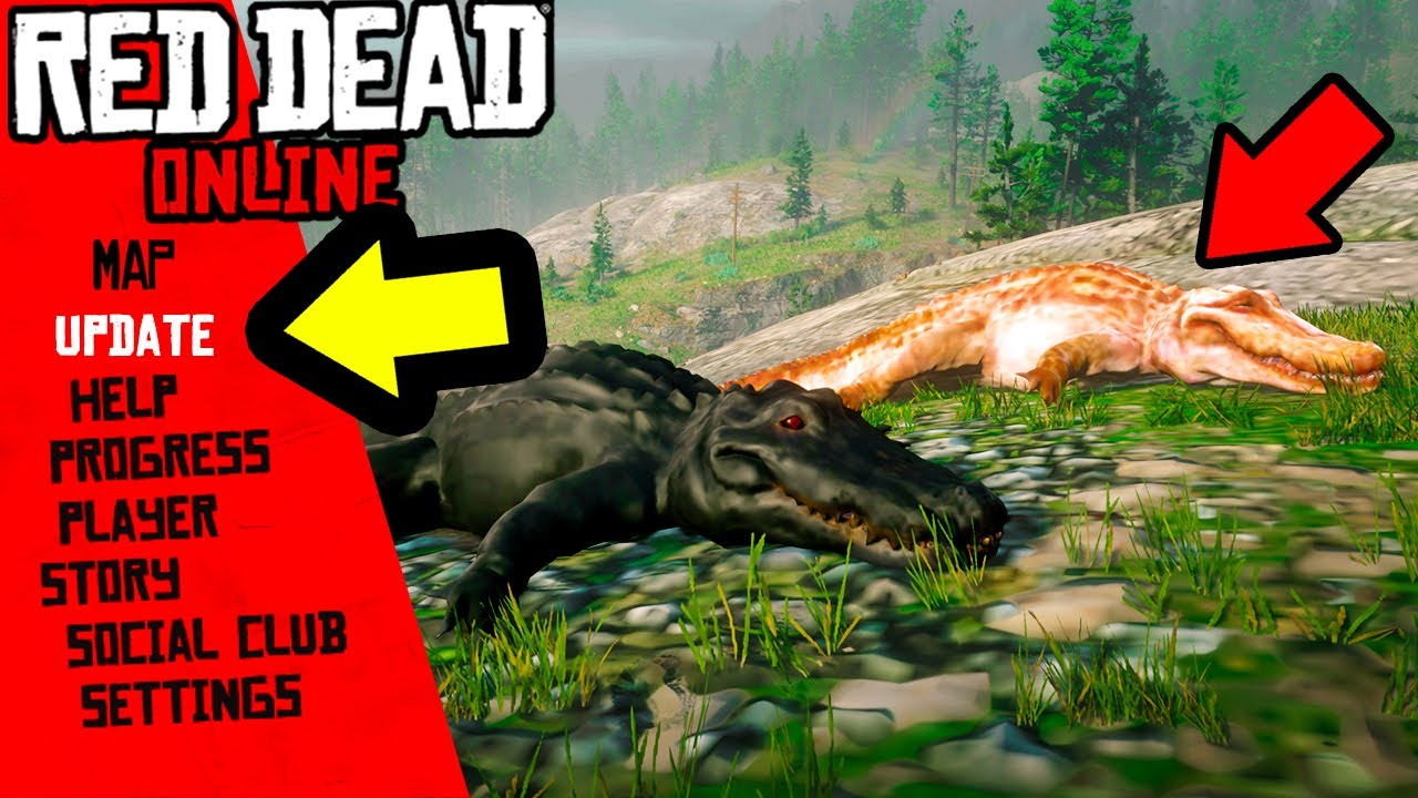 LEGENDARY ALLIGATOR and SECRETS YOU NEED in Red Dead Online! thumbnail