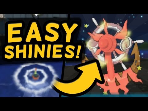 How to find EASY SHINY POKEMON in Sun and Moon!