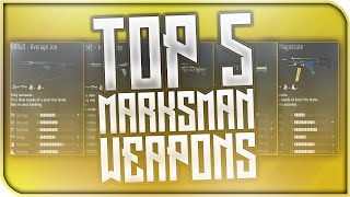 "BEST WEAPONS! -Top 5 ""Best Marksman Weapons""! (COD AW Best Weapon Variants)"