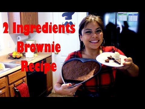 I Tired Tasty's 2 ingredient chocolate cake/brownie WITH ICE CREAM!