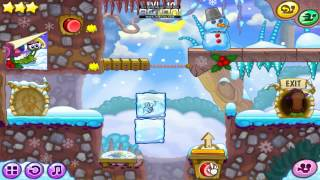 Snail Bob 6: Winter Story Full Game Walkthrough - Levels 1-25, 3 stars [HD]
