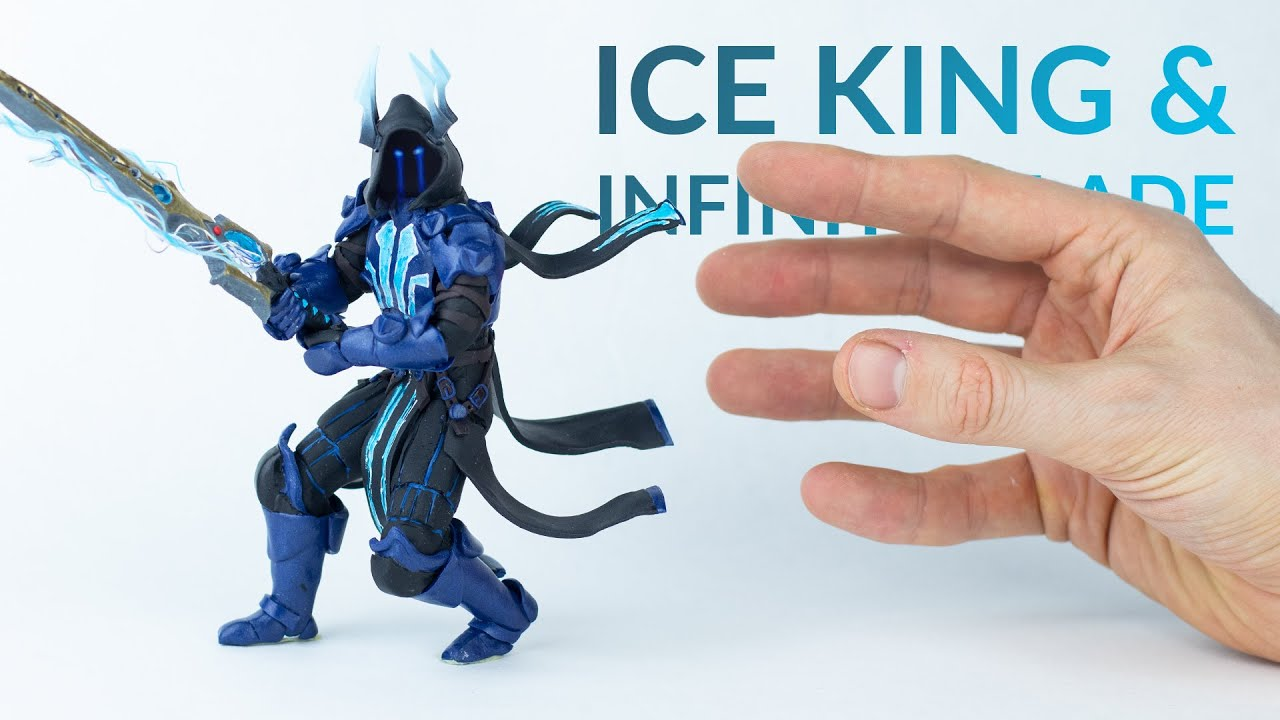 Ice King Infinity Blade Fortnite Battle Royale Polymer Clay Tutorial