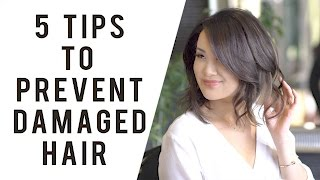 5 Professional Tips to Prevent Hair Damage | ANN LE