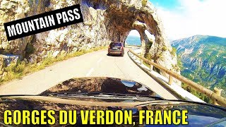 VERDON GORGE RUN - FRENCH ALPS | THIS PLACE IS INSANE!!!