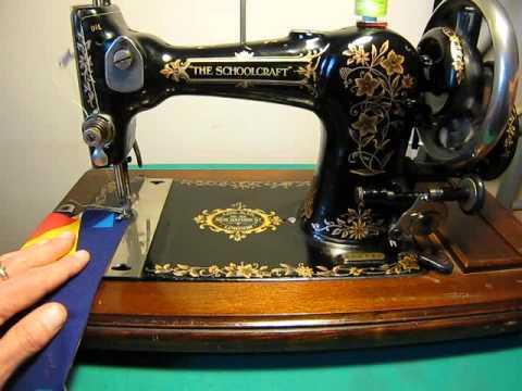 The Schoolcraft Sewing Machine Jones