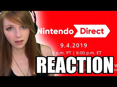 FULL NINTENDO DIRECT REACTION 9.4.2019 | MissClick Gaming