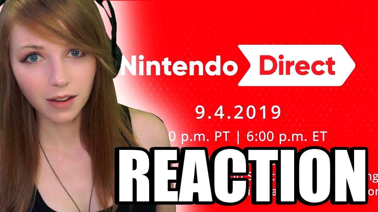 FULL NINTENDO DIRECT REACTION 9.4.2019 | MissClick Gaming