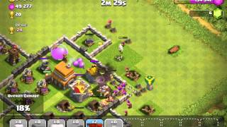 Clash of Clans - know who to kill