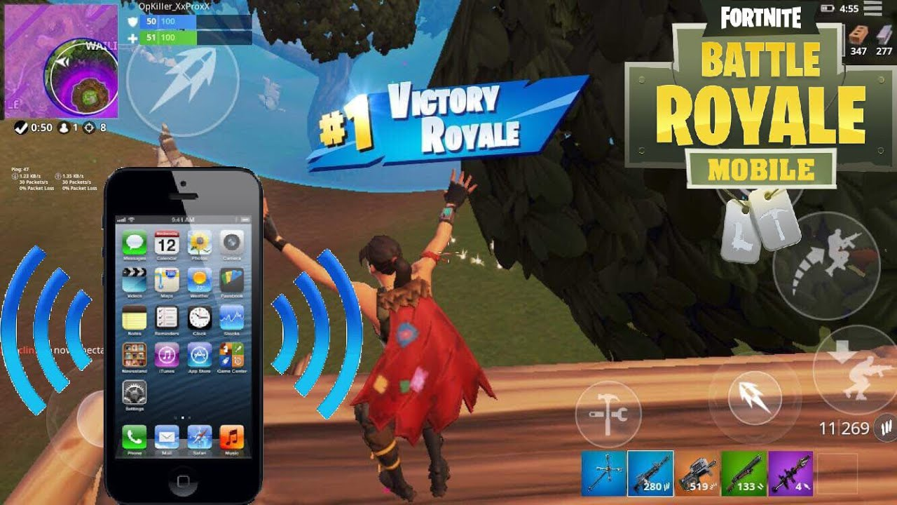 How To Turn Off Vibration On Fortnite Mobile Youtube