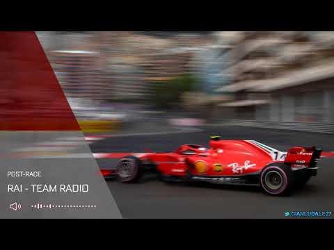 Kimi Raikkonen's 2018 Monaco GP Post-Race Radio