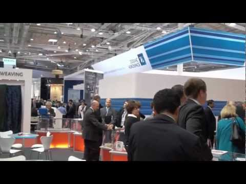 Aviation Excellence 's visit to the Aircraft Interiors Expo - Hamburg, Germany 2012