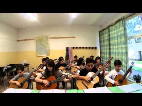 Altrimenti ci arrabbiamo! - Coro dei Pompieri (My Students, Guitar Ensemble)