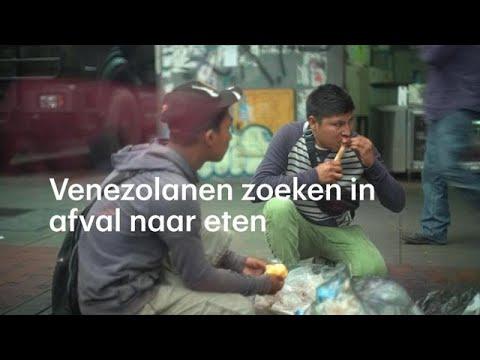 Venezolanen eten uit vuilniszakken: 'Ze vermoorden je voor een beetje afval' - RTL NIEUWS