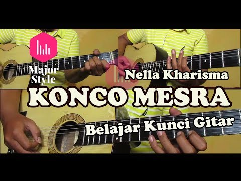 Nella Kharisma - Konco Mesra Guitar Tutorial Major Style