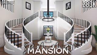 Bloxburg | Summer Mansion Large Plot | House Build