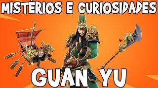 MYSTERIES AND CURIOSITIES SKIN GUAN YU-FORTNITE BATTLE ROYALE
