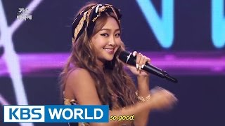 SISTAR Touch My Body 2014 KBS Song Festival 2015 01 14