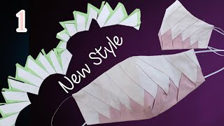 New Design Face Mask Pattern Face Mask Sewing Tutorial How to Sew Fabric Face mask at home