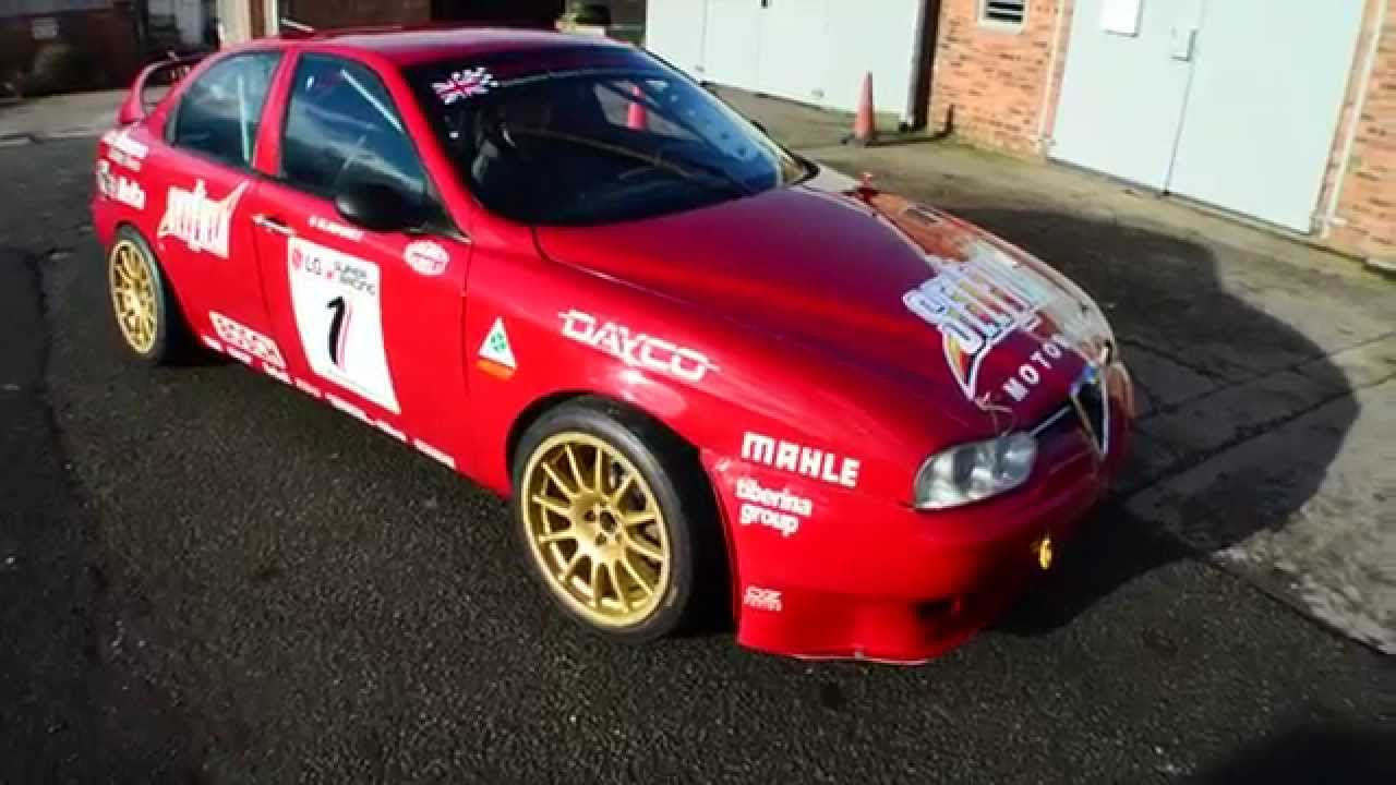 Alfa Romeo 156 Production Super Touring BTCC race car for sale ...