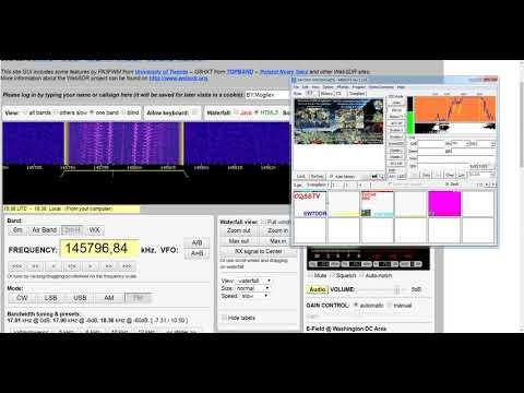 Прием SSTV с МКС