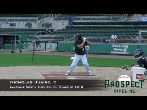 Nicholas Juaire, C, Lakeville High School, Swing Mechanics at 200 FPS