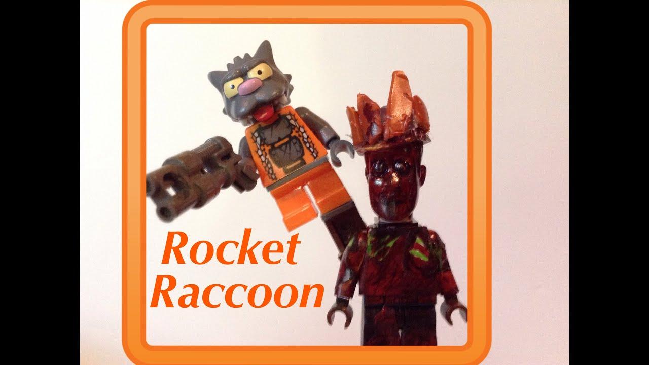 LEGO Marvel Guardians of the Galaxy: Rocket Raccoon Custom ...
