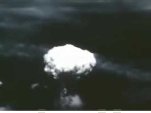 The Hiroshima and Nagazaki Bombings - REAL FOOTAGE!