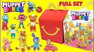 MUPPET BABIES McDonalds Happy Meal Toys Full Set
