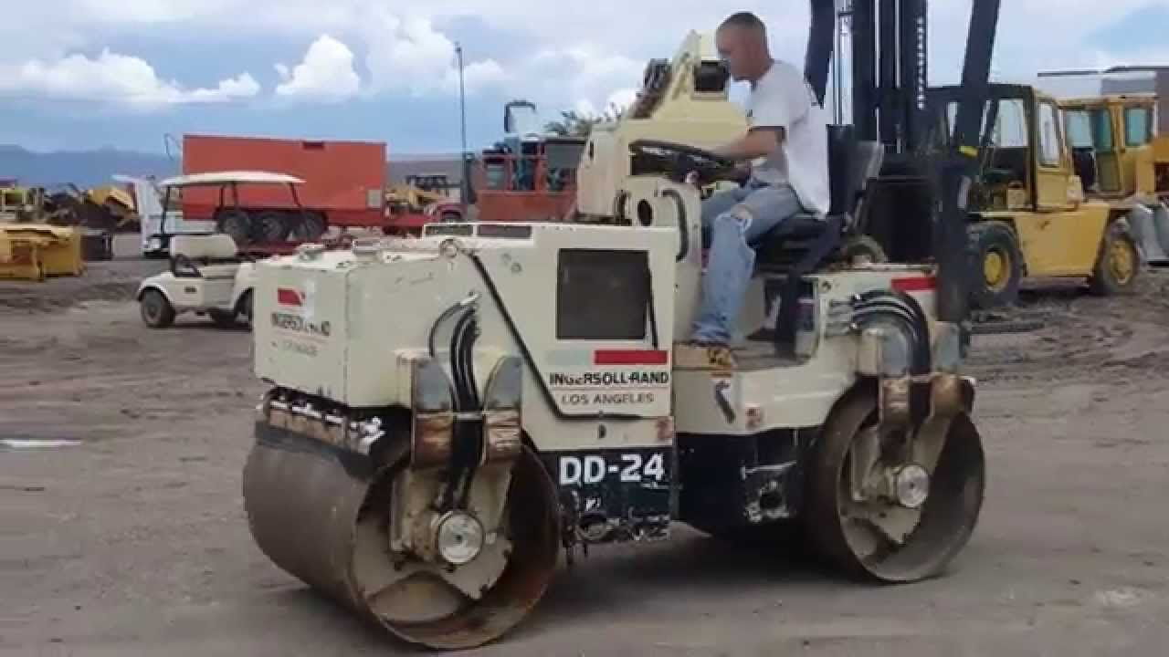 COMPACTADOR INGERSOLL RAND DD-24 on
