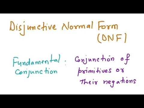 Normal Forms, DNF, CNF, Valid Argument, Rules Of Inference - YouTube