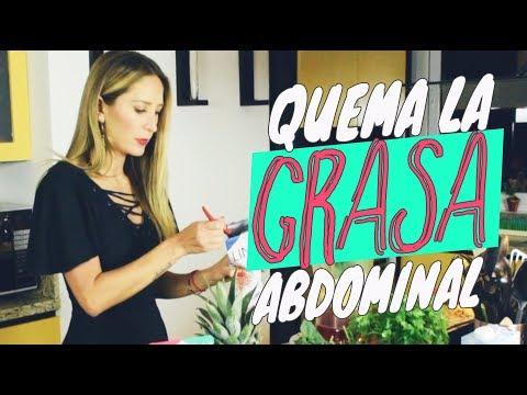 Quema la grasa abdominal // Geraldine Bazán
