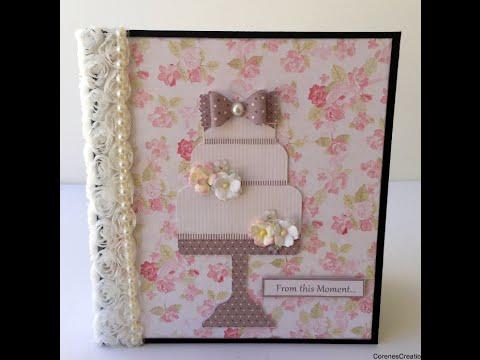 Wedding Album Flip-thru & start to finish! Wild Orchid Crafts & Nitwit Collections!