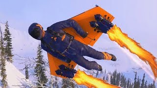 NEW ROCKET WINGSUITING! - STEEP XTREME DLC
