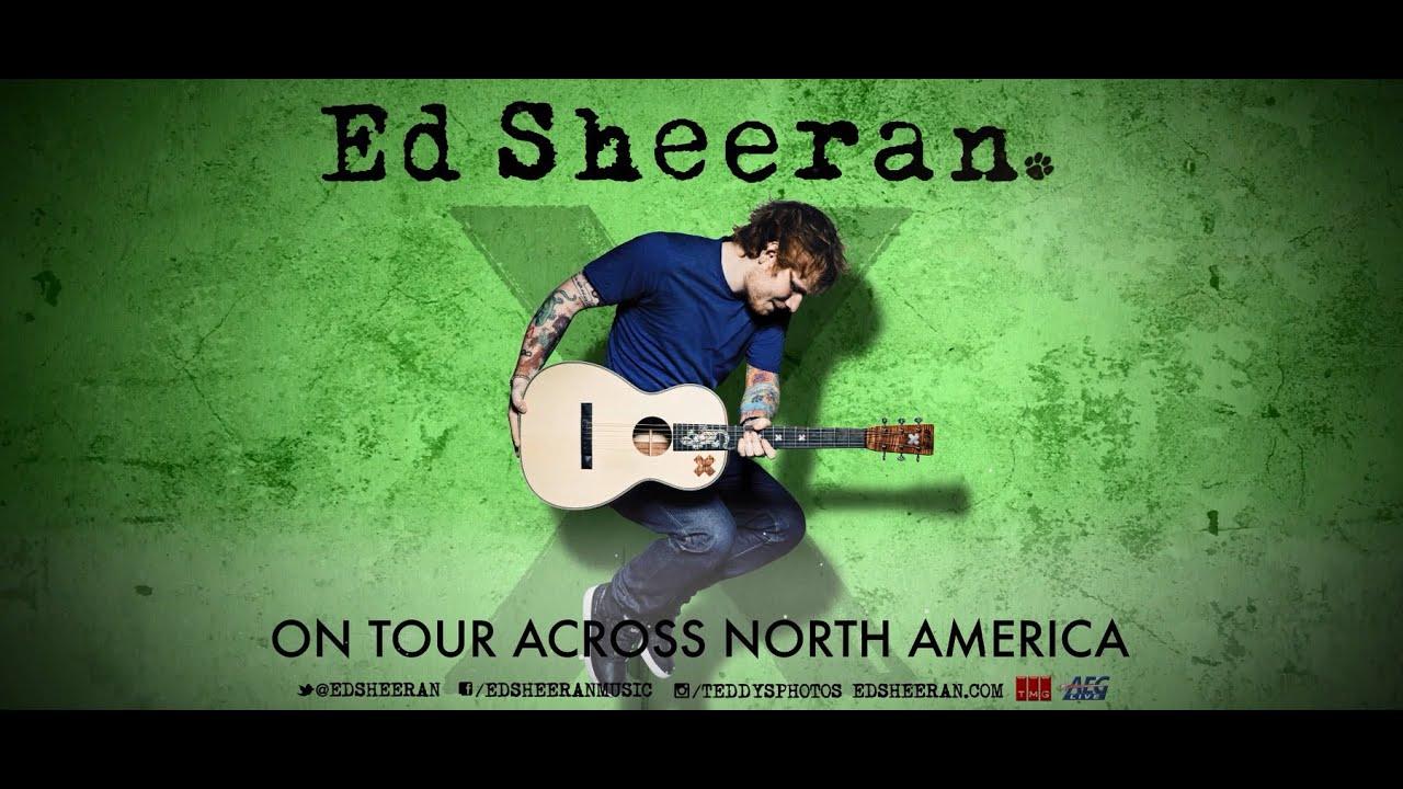 Ed sheeran tour dates 2015