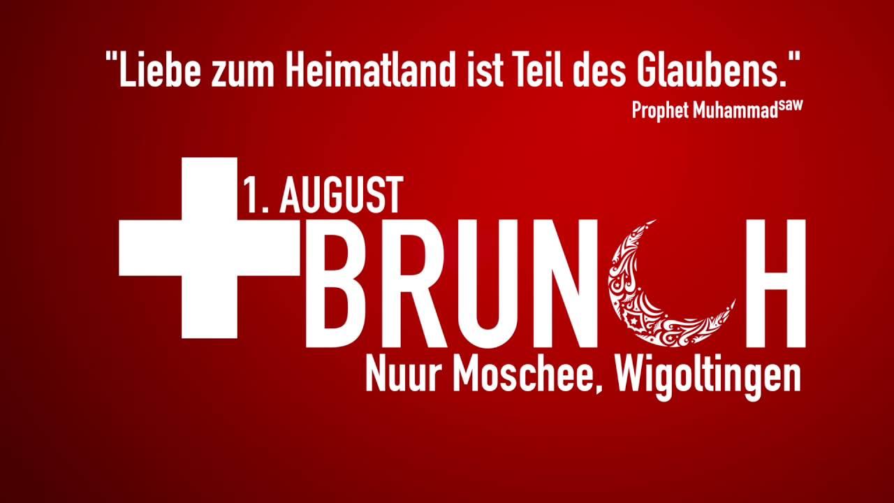 Muslime feiern den Nationalfeiertag Schweiz