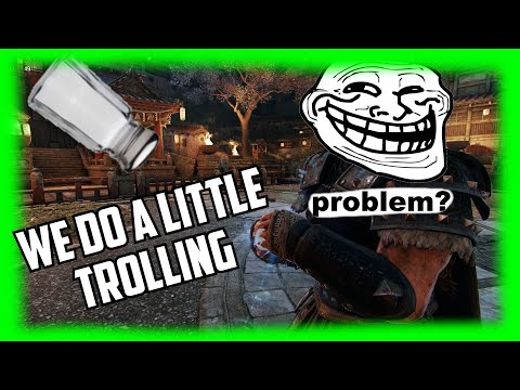 TROLLING TOXIC KIDS AND MAKING THEM SALTY | For Honor Brawls 2v2 |