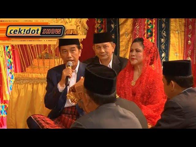 Cekidot Show: Jokowi Komentari Soal Putrinya Diberi Marga Siregar
