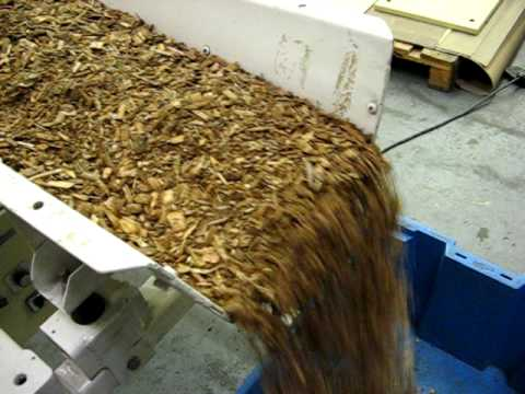Controlled Mass Flow Wood Chip
