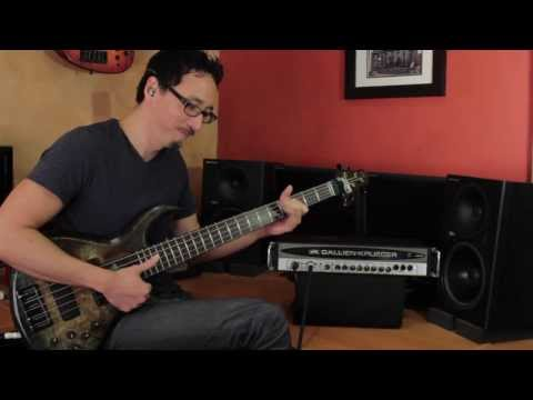 Gallien-Krueger 400 RB Demo by Norm Stockton
