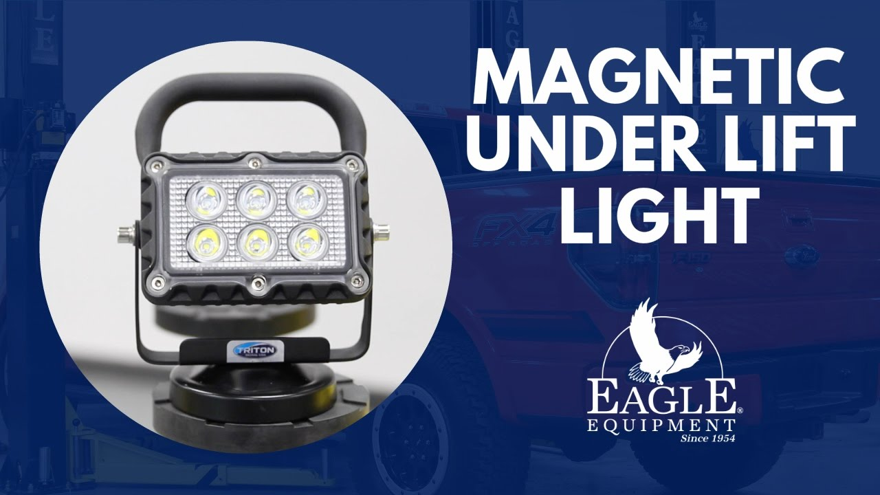 Rechargeable Magnetic Led Work Light Great To Use Under Your Eagle Lift