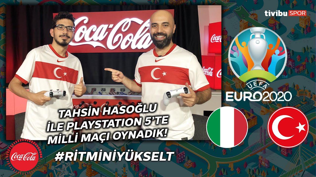 Tahsin Hasoğlu ile İtalya-Türkiye maçını FIFA'da oynadık! #RitminiYükselt!