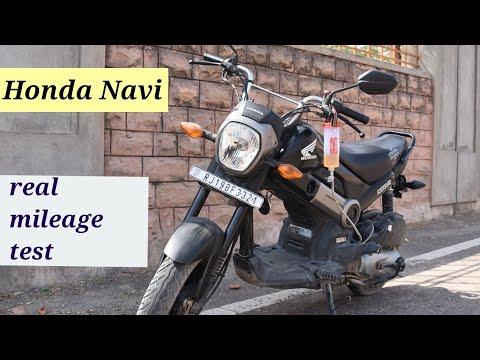 Honda Navi Real mileage test