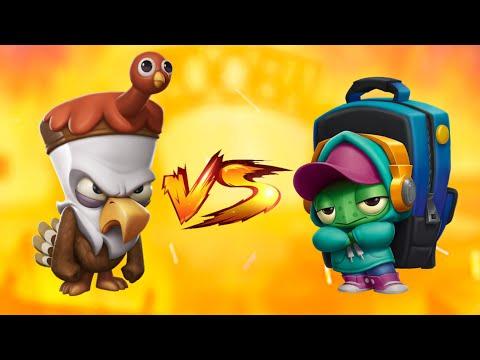 Turkey Steve vs School's Out Shelly    Zoo Battle Arena