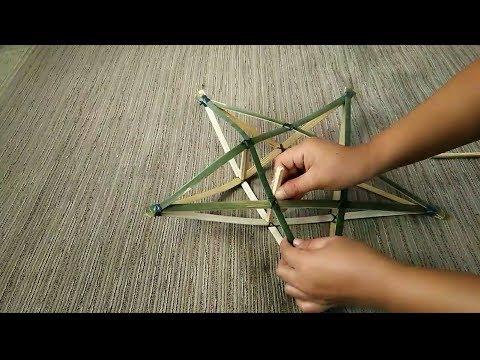 DIY #1 Christmas lantern | how to make parol or star lantern in easy steps