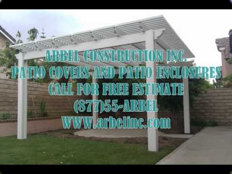 PATIO COVER BURBANK LOS ANGELES - YouTube
