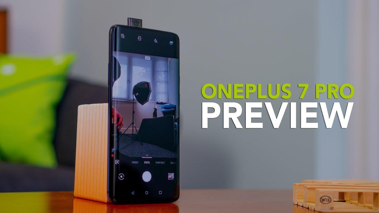 OnePlus 7 Pro preview: onze eerste indruk!
