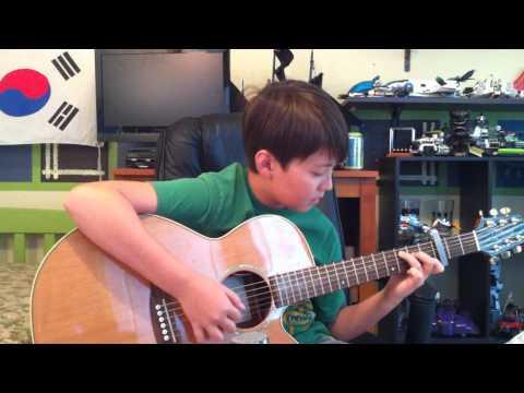 Landslide - Fleetwood Mac - Fingerstyle solo guitar - Sungha Style